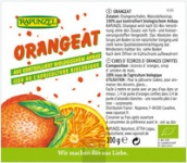 Orangeat ohne Weißzucker BIO 100 g