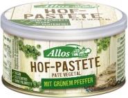 Hof-Pastete Grüner Pfeffer 12x125g BIO Allos