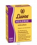 Heilerde Kapseln mikrofein 100 St. Luvos