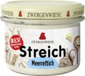 Streich Meerrettich 180 g Glas, Zwergenwiese