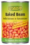 Baked Beans in der Dose, Weiße Bohnen in Tomatensauce 400 g BIO