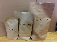 Bodenbeutel 23 x 37 cm, NPE gefüttert bis 2 kg