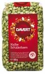 Grüne halbe Erbsen 500 g von DAVERT