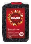 Linsen Beluga, BIO schwarz 500 g von DAVERT