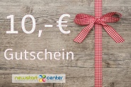 Gutschein zum Einkauf im NEWSTARTCENTER 10,- €