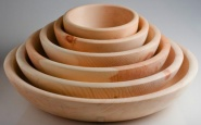 Holzschüssel Set - 16, 18, 20, und 25 cm