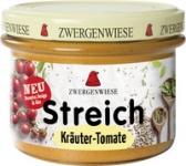 Streich Kräuter-Tomate 180 g Glas, Zwergenwies
