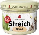 Streich Bärlauch 180 g Glas, Zwergenwiese