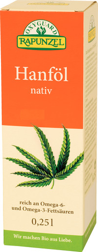 Hanföl, nativ BIO 250 ml  RAPUNZEL