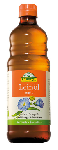 Leinöl nativ 500 ml BIO