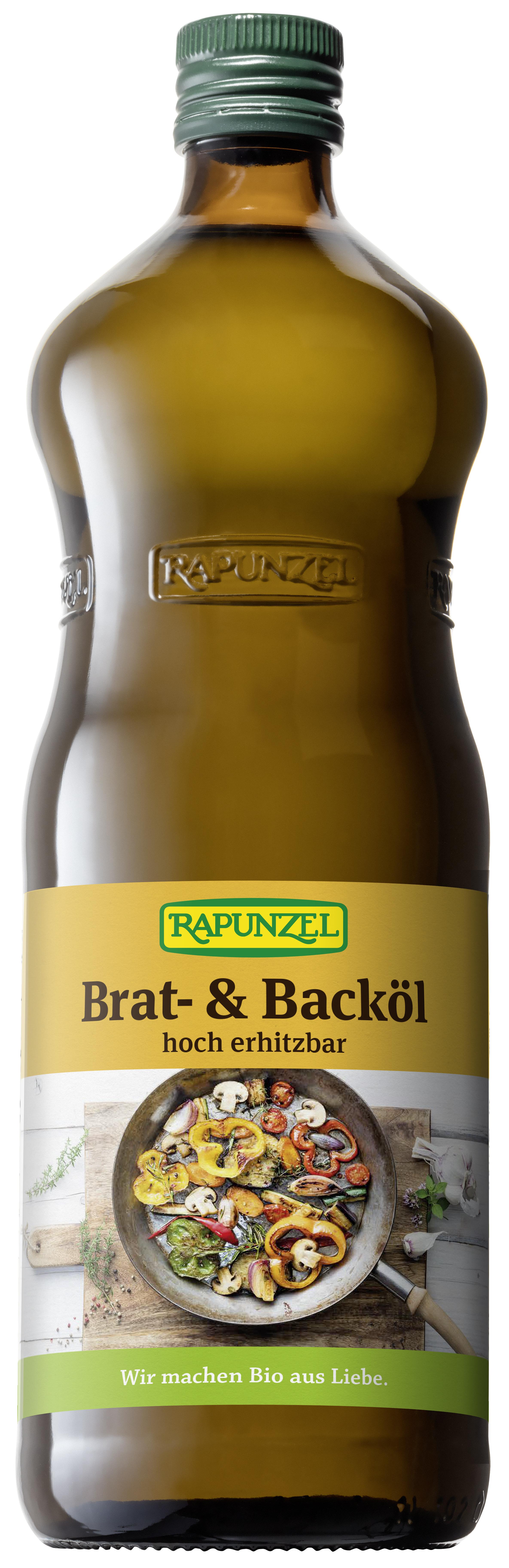 Brat- und Backöl 1 l BIO  RAPUNZEL