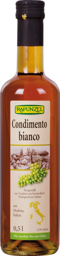 Balsamico Bianco Condimento, BIO 0,5 l RAPUNZEL