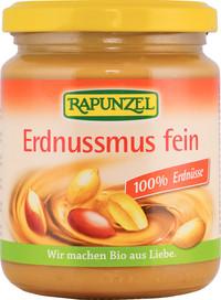 Erdnussmus fein 100% Erdnüsse 250 g