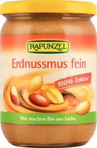 Erdnußmus fein 100% Erdnüsse 500 g von Rapunzel