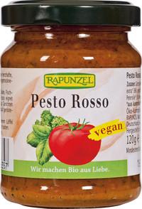 Pesto Rosso aromatisch-mild 125 g Glas von Rapunzel