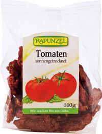 Getrockenete Tomaten, halbe  100 g Tüte