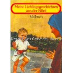 Meine Lieblings- geschichten aus der Bibel - Malbuch