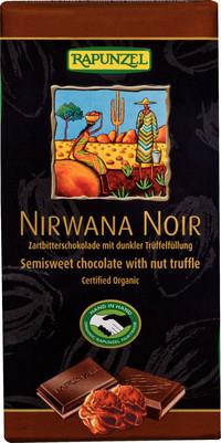 Nirwana Noir 55% mit dunkler Trüffelfüllung 100 g BIO