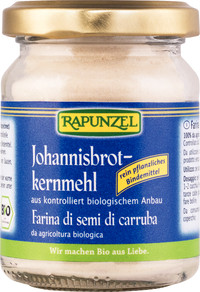 Johannisbrotkernmehl BIO 65 g  Glas  RAPUNZEL