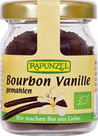Bourbon Vanillepulver BIO 15 g Glas