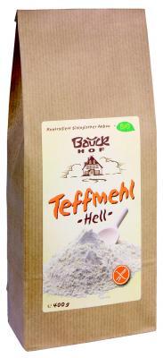 Teffmehl, Hell glutenfreien 400 g