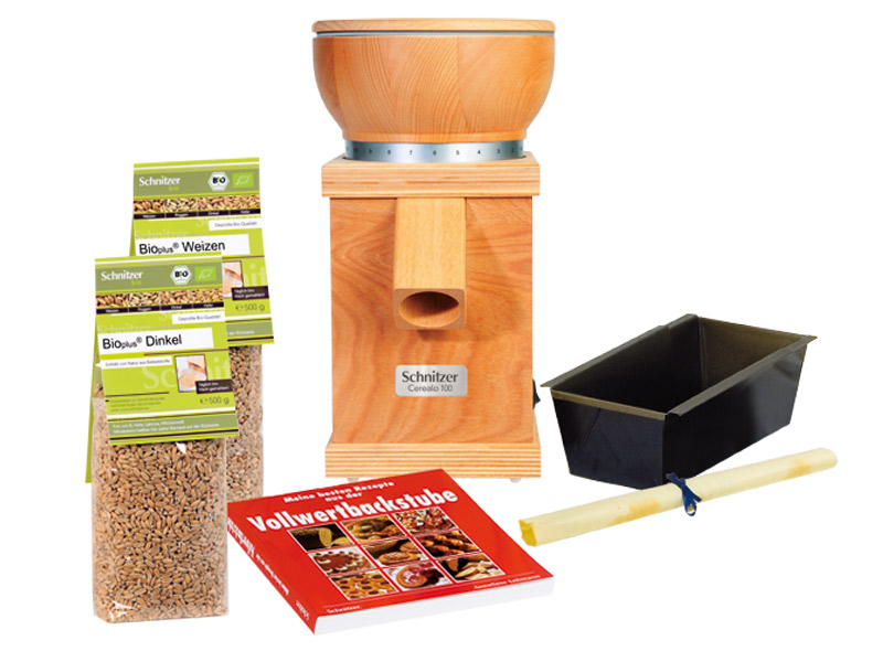 Geschenkset  Getreidemühle Cerealo 100