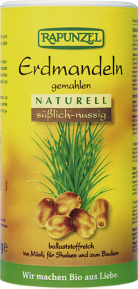 Erdmandeln gemahlen, naturell 300 g BIO  RAPUNZEL