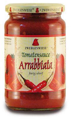 Tomatensauce Arrabbiata 340 g Zwergenwiese