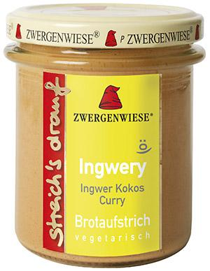 Ingwery Aufstrich BIO 160g Zwergenwiese
