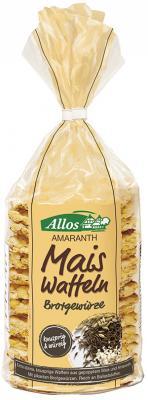 Amaranth Mais Waffeln mit herzhaften Brotgewürzen  130 g