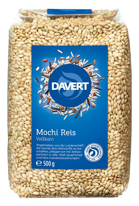 Süßer Reis (Mocchi-Reis) 500 g  DAVERT