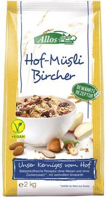 Hof-Müsli Bircher mit Amaranth BIO 2 kg