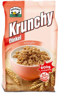 Krunchy Dinkel BIO Bernhouse 600g