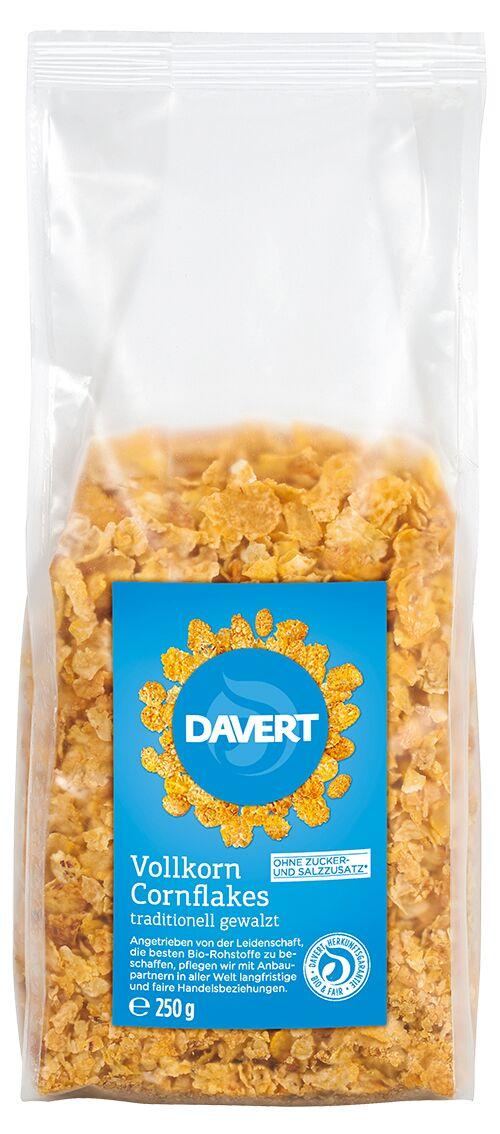 Vollkorn Flakes BIO 250 g von DAVERT