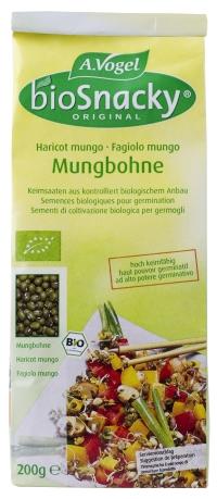 Mungbohnen grüne Soja BIO 200g von Biosnacky