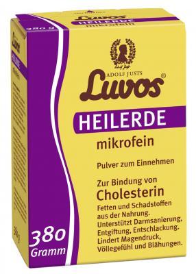Heilerde mikrofein 380 g Luvos