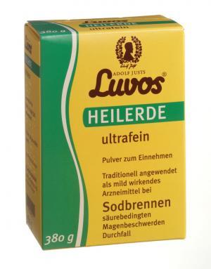 Heilerde ultrafein 380g, Luvos
