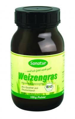 Weizengras Pulver 100g BIO, SANATUR