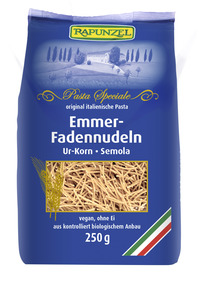 Emmer-Faden-Suppennudeln Semola 250 g BIO Rapunzel