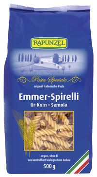 Emmer-Spirelli Semola 500 g BIO Rapunzel
