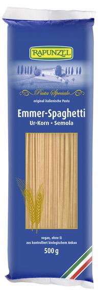 Emmer-Spaghetti Semola 500 g BIO Rapunzel
