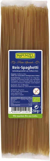 Reis-Spaghetti BIO 250 g Rapunzel