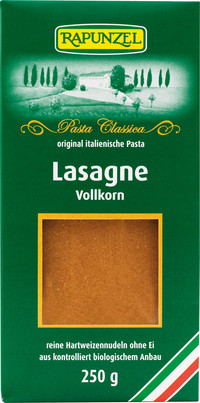 Lasagne-Platten Vollkorn BIO Rapunzel 250 g