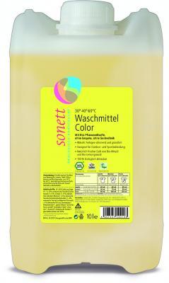 Color-Waschmittel flüssig Mint & Lemon 10l Sonett