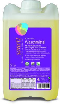 Flüssigwaschmittel 5 ltr. Sonett