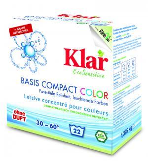 Basis Compact Color 1,375 kg, Klar