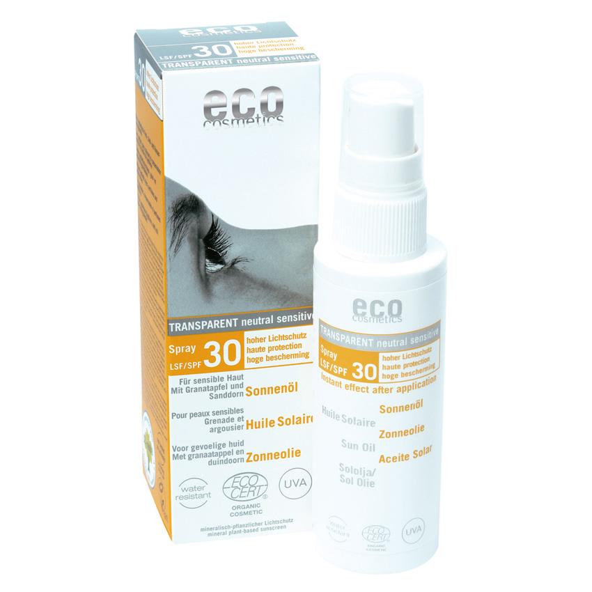Eco cosmetics Sonnenöl Spray LSF 30, 50ml
