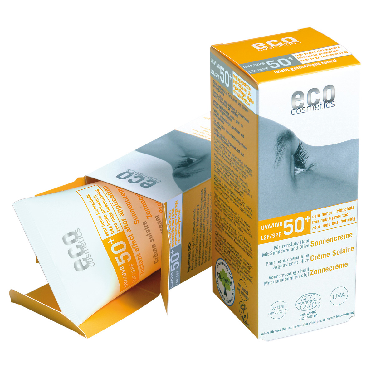 Eco cosmetics Sonnencreme LSF 50+, 75ml