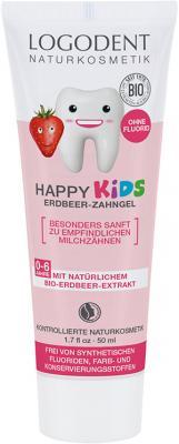 Logodent Kids-Zahngel Erdbeere 50 ml