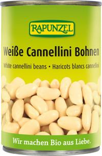 Weiße Cannellini Bohnen in der Dose 400 g BIO  RAPUNZEL